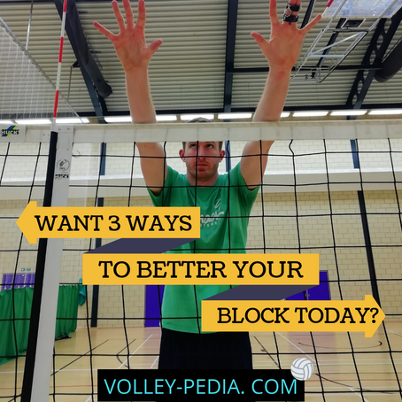 3 Tips to Improve Your Blocking Today