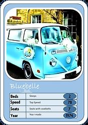 VW campervan specifications