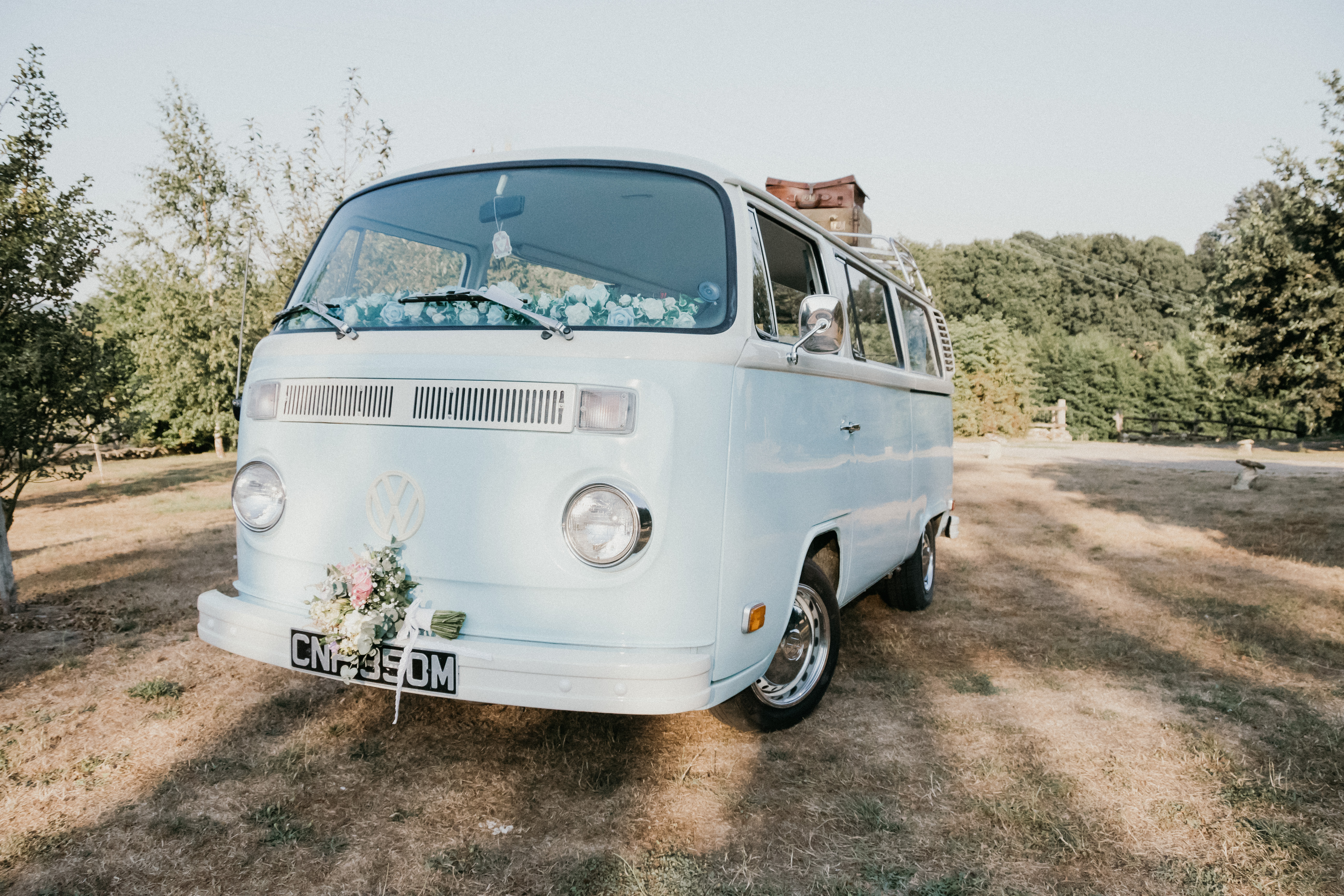 Bluebelle - Retro VW Hire