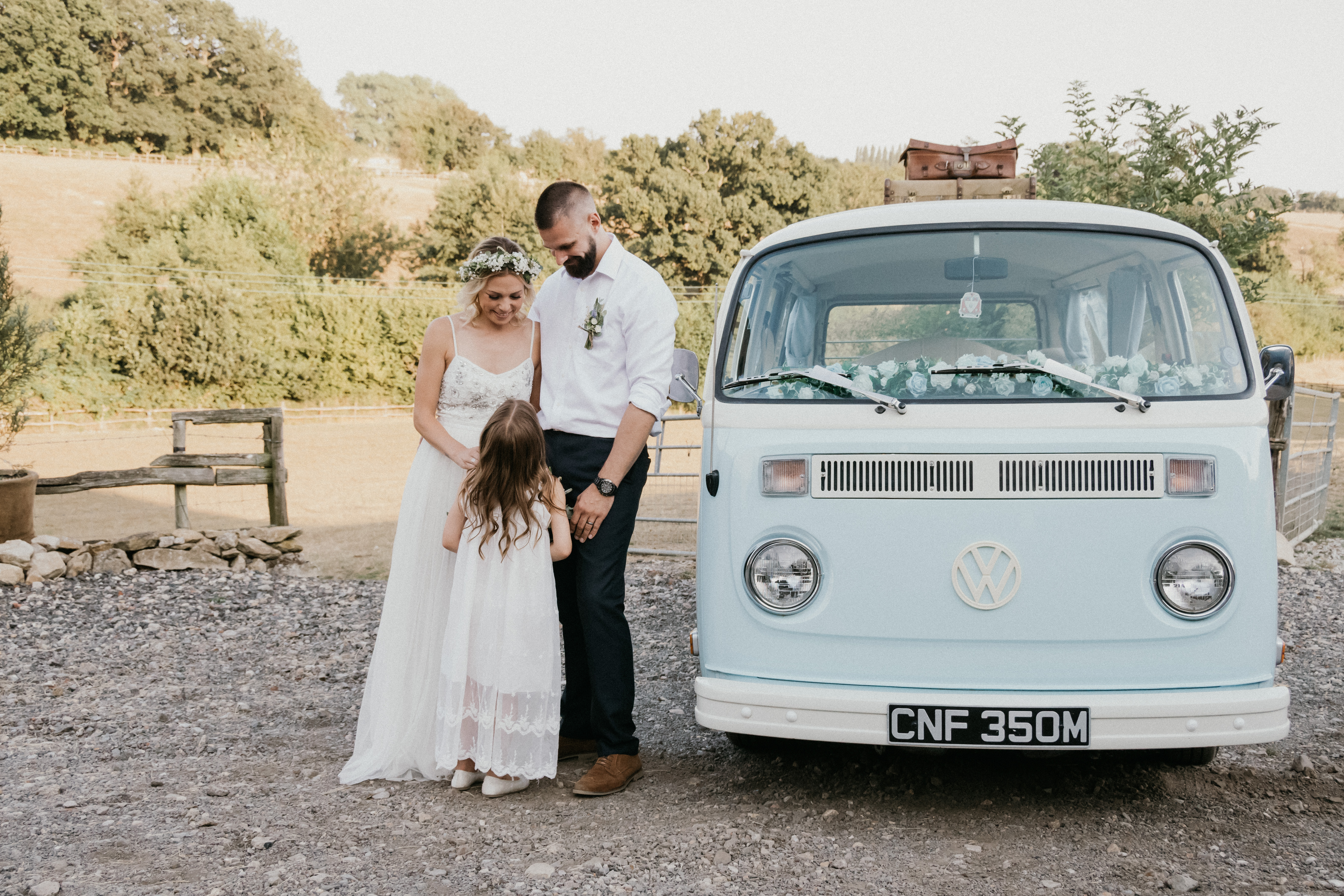 Campervan Wedding