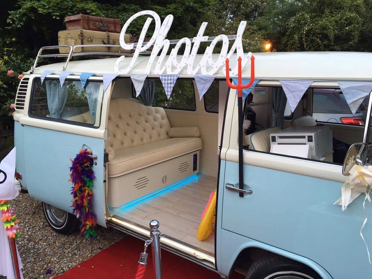 VW campervan photobooth