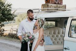 Campervan Wedding