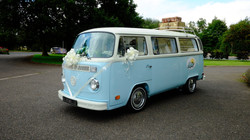 VW Camper with ribbons