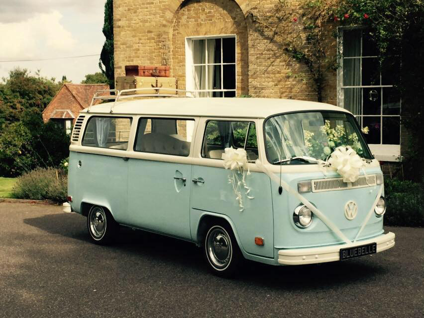 VW wedding transport