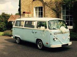 VW wedding transport