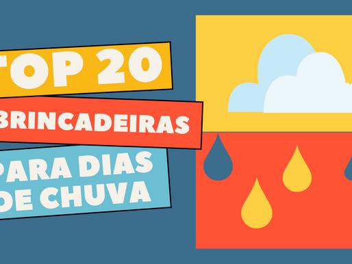 BRINCADEIRAS PARA DIA DE CHUVA