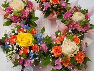 ミニアレンジ花、ミニ花束
