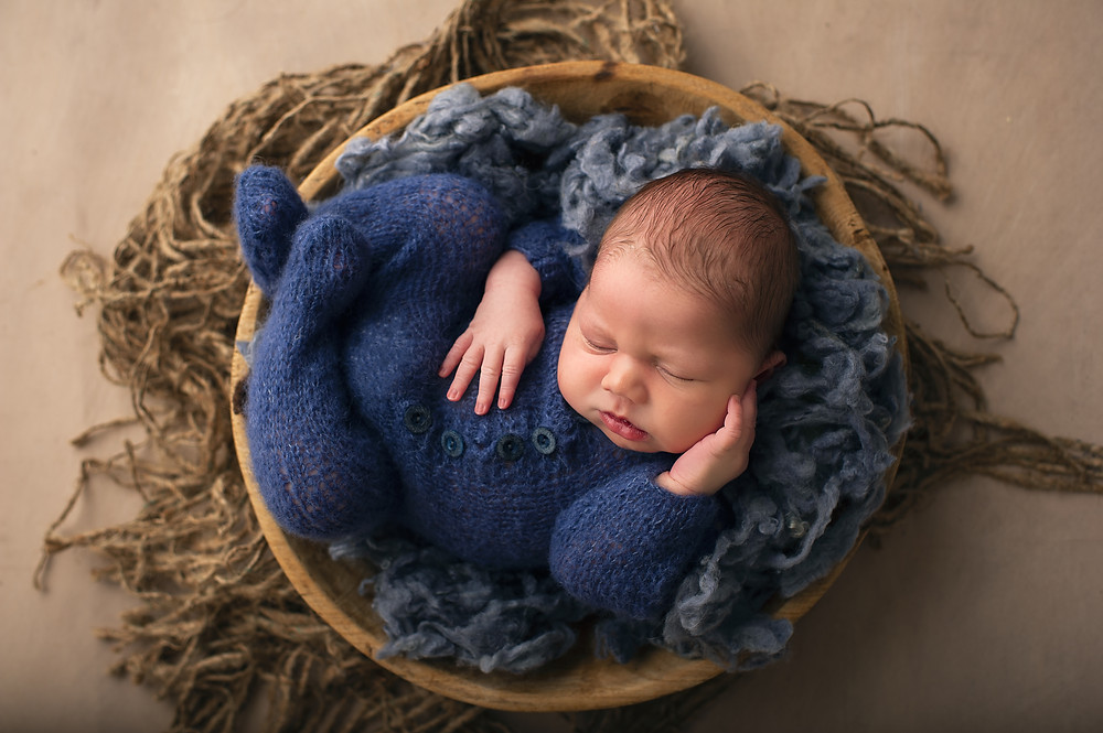 Sleeping soundly - Adelaide newborn photography