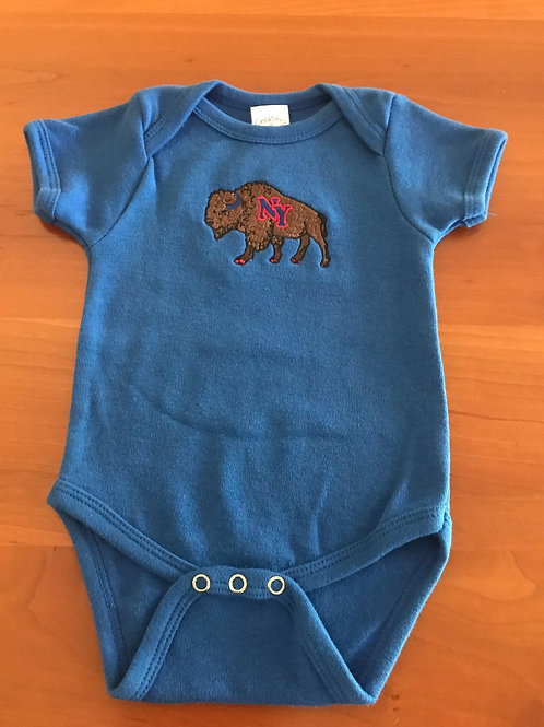 Buffalo Baby Onesie in Royal 3-6 months
