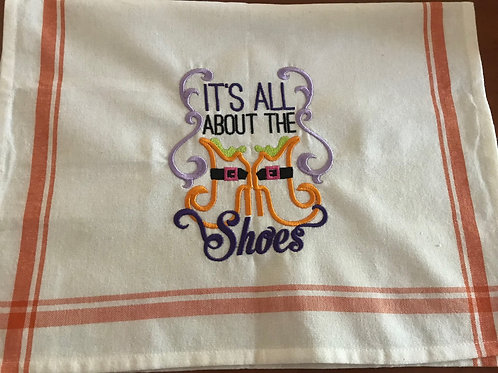 Halloween Cotton Tea Towel