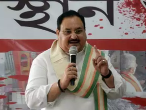 BJP chief J P Nadda: 80,000 forced to abandon homes in Bengal.