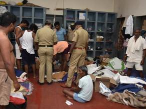 Police raid Bengaluru central prison.