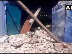 Illegal firecracker factory explosion leaves 3 dead, 2 injured.