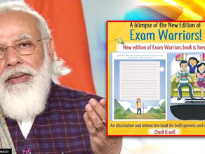 """To curb down your stress, here's the new edition of """"Exam Warriors"""""""