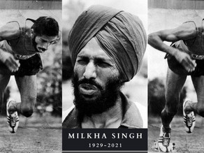 'The Flying Sikh', Milkha Singh dies of Covid complications.
