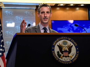 US allows voluntary departure of families in India.