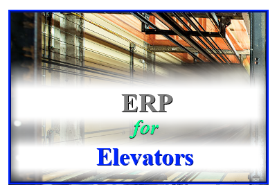 ERP for Elevators