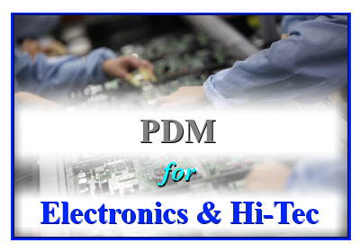 PDM for Electronics & Hi-Tec