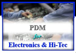 PDM for Electronics & Hi-Tec