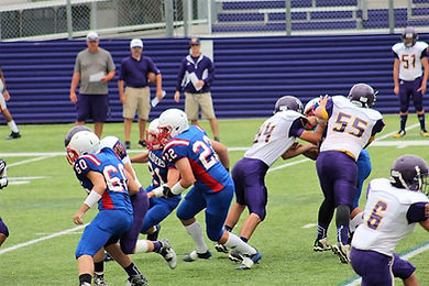 UCA Lions Football in action