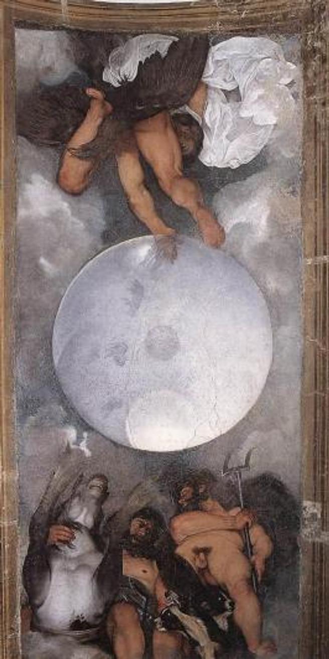 Jupiter, Neptune and Pluto  - Michaelangelo