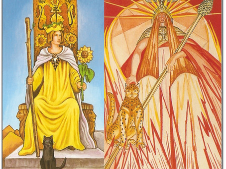 The Queen of Wands – Passion and Power
