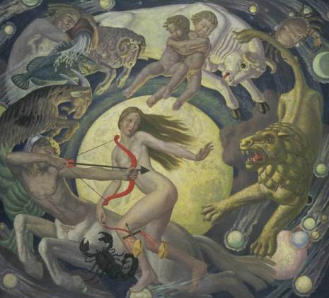 The Zodiac 1925 by Ernest Procter 1886-1935