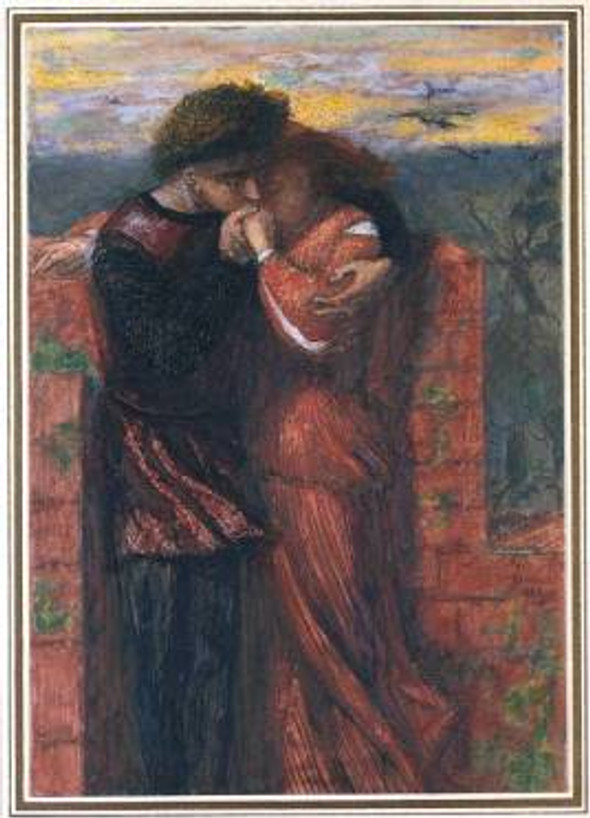Carlisle Wall (The Lovers) 1853 Dante Gabriel Rossetti 1828-1882 Bequeathed by Miss E.K. Virtue Tebbs 1949 http://www.tate.org.uk/art/work/N05921