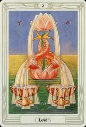 The Lord of Love ~ The 2 of Cups