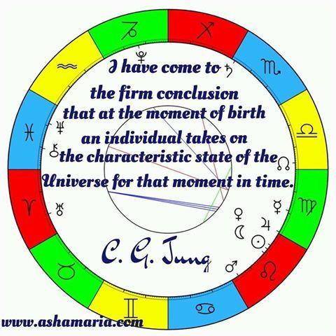 asha maria astrology tarot wollongong jungian astrology
