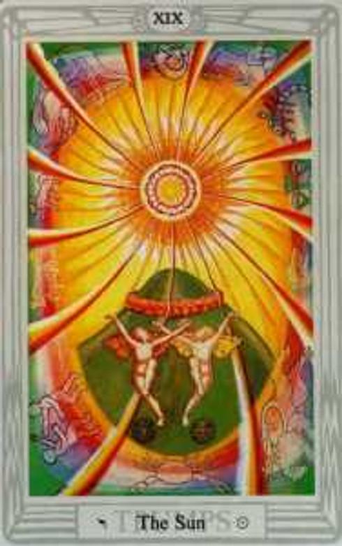 The Sun - Lady Frieda-Harris.  Copyright Ordo Templi Orientis