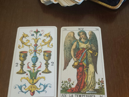 Daily Tarot: Love Tempered by Wisdom