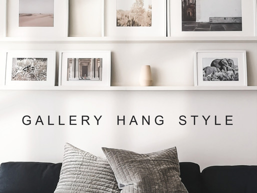 GALLERY HANG STYLE