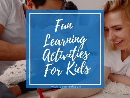 Fun Learning Activities For Kids
