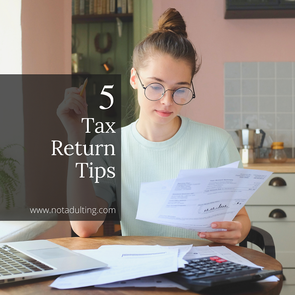 5 Tax Return Tips for Students