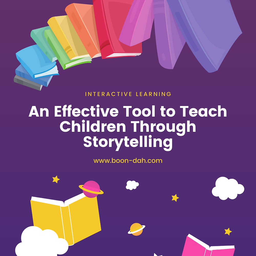 Interactive Learning: An Effective Tool to Teach Children Through Storytelling