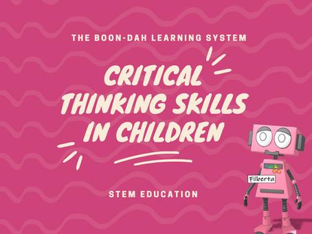 Critical Thinking Skills in Children