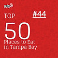 Top 50 on yelp for tampa bay