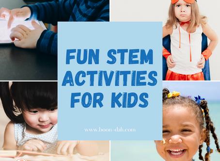 Fun STEM Activities for Kids