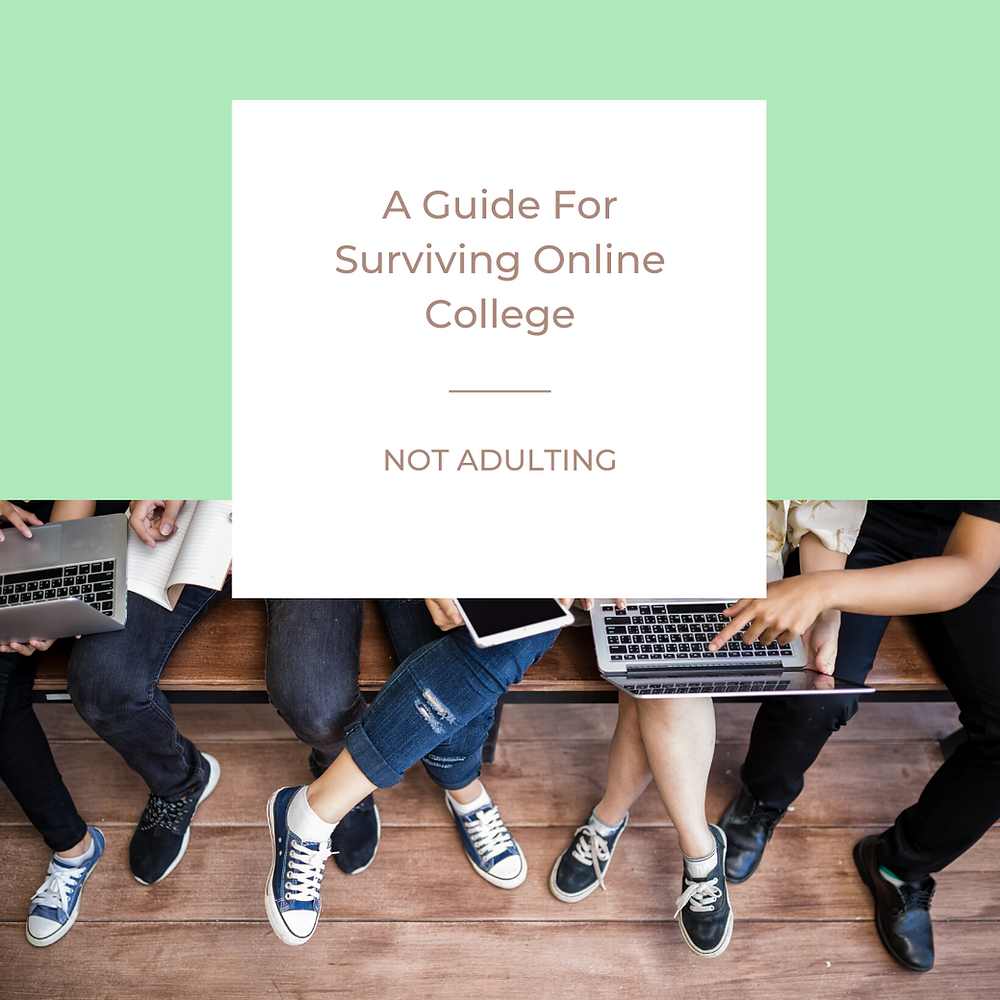 A Guide For Surviving Online College