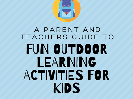 Fun Outdoor Learning Activities for Kids