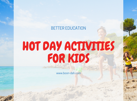 Hot Day Activities for Kids