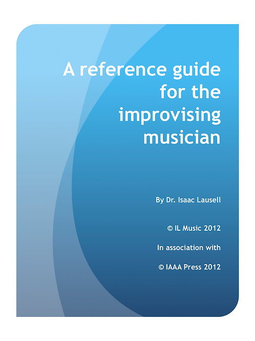 A reference guide for the improvising musician
