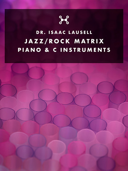 Jazz/Rock Matrix (Piano & C instruments) PDF