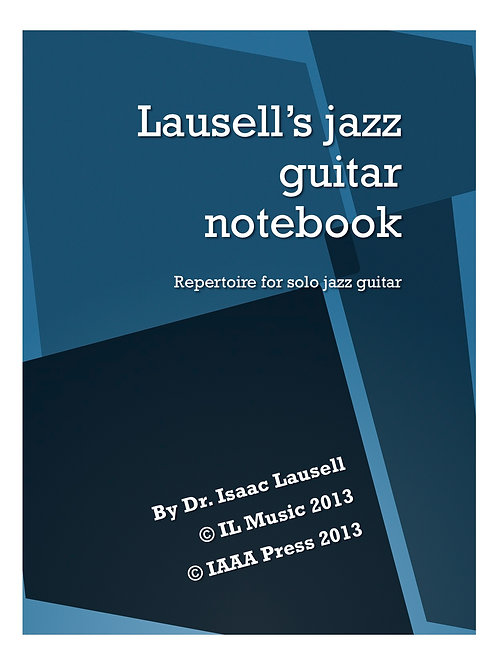 Lausell's jazz guitar notebook PDF