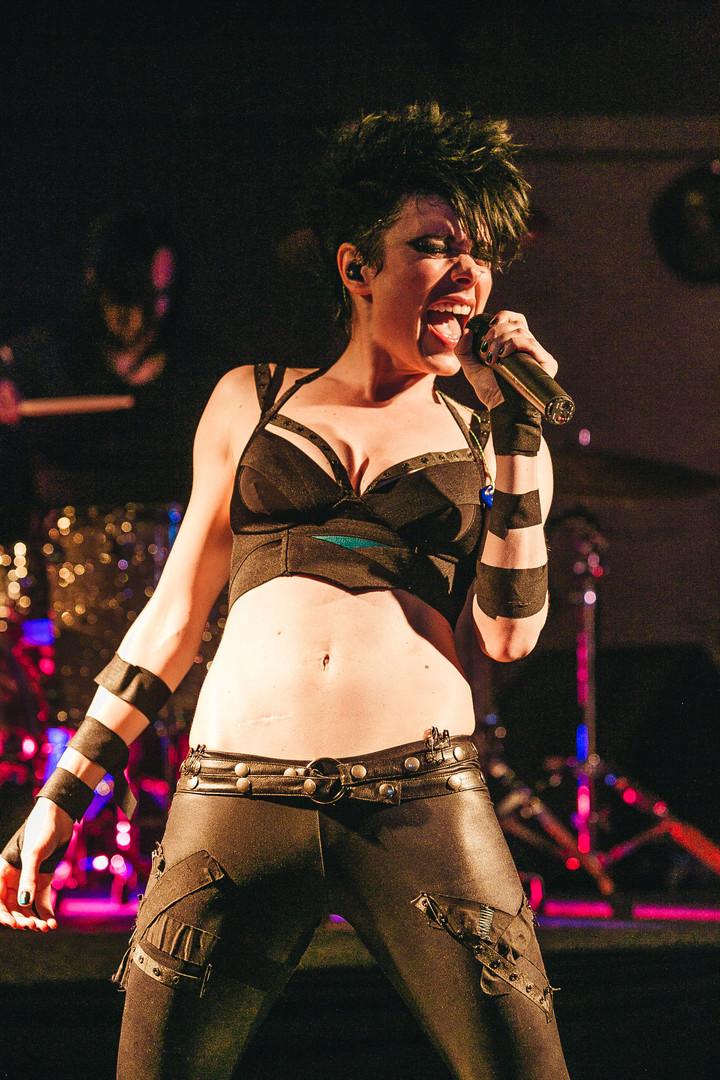 Music artist Nina Bergman