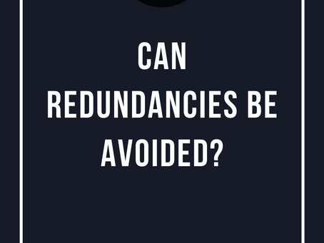 Can Redundancies Be Avoided?
