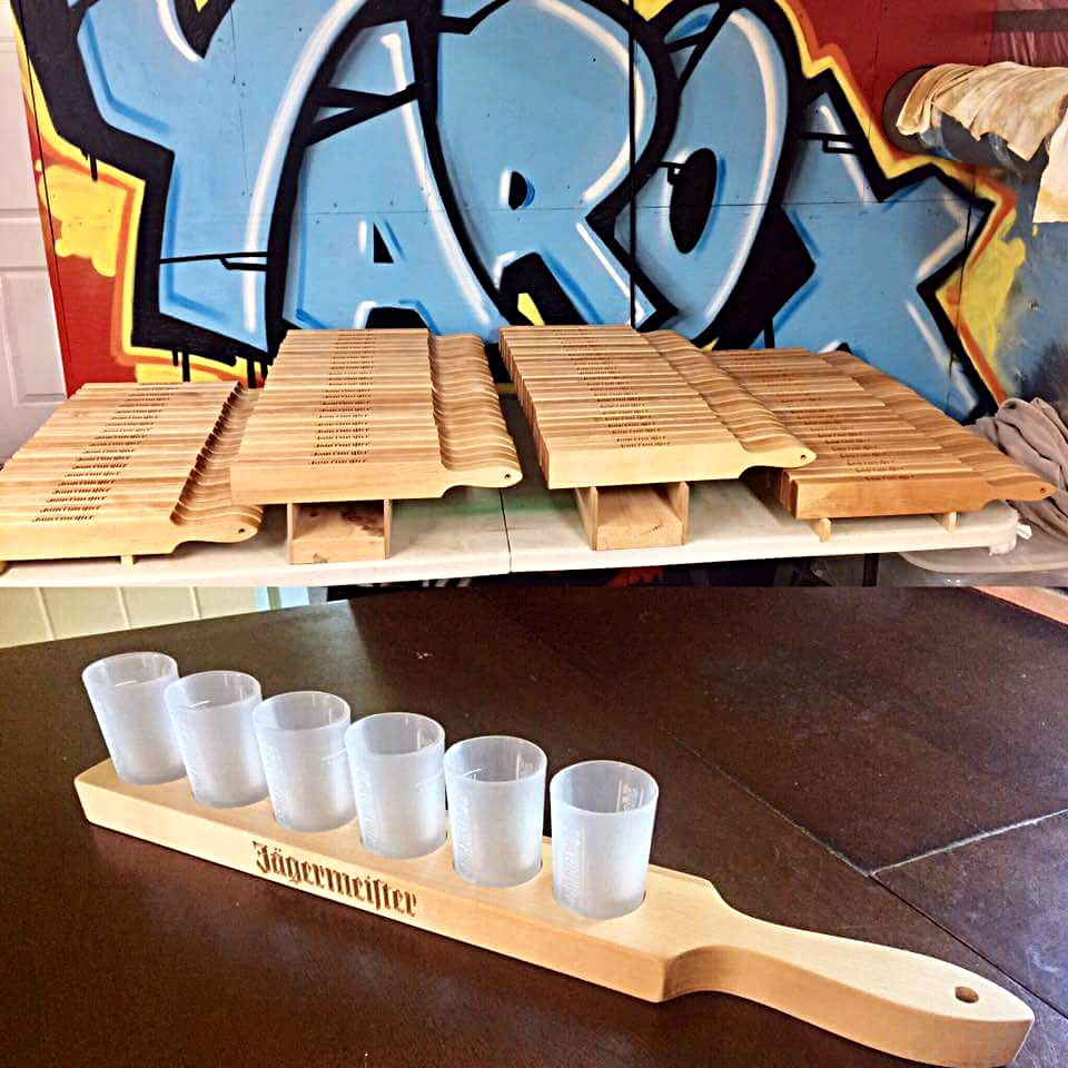 Trays shooter