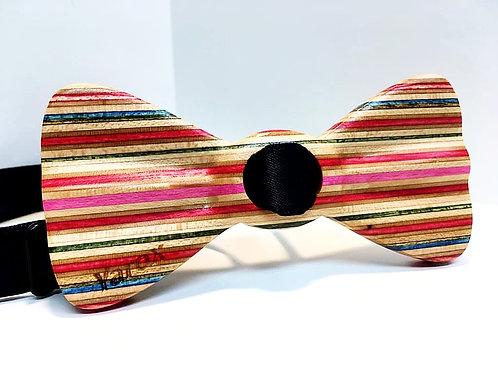 Noeud papillon en bois Le Skate - Édition Spéciale