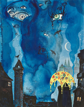 Salvador Dalí: Nukkumatti / John Blund / The Sandman